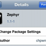 Cydia Tweak Zephyr Gets Update