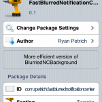 FastBlurredNotificationCenter:Blurs Background On LockScreen