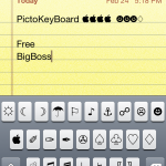 Add Awesome Symbols To Keyboard: PictoKeyBoard Cydia Tweak 2012