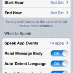 SpeakEvents Cydia Tweak: Step Into The Future and Listen To Your iPhone