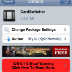 Awesome Multitask Replacement; CardSwitcher Gets Updated
