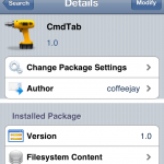 Adds Mac-like Toolbar To iPhone; CMDTab Cydia Tweak