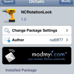 Lock/Unlock Rotation From Notification Center; NcRotation Lock Cydia Tweak