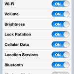 Add Menu Toolbar To Notification Center; NCSettings Cydia Tweak