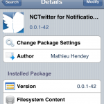 Add Twitter To Notification Center; NCTwitter Cydia Tweak