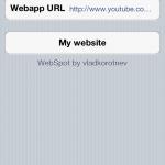 Use Spotlight For Favorite Website; Webspot Cydia Tweak