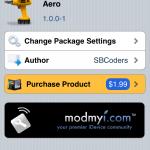 Sbcoders Release Aero In Cydia Store