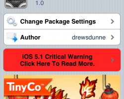 NCRam for Notification Center Cydia Tweak
