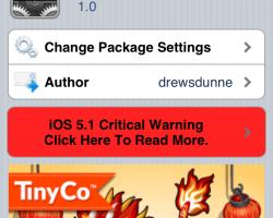 NCRam for Notification Center Cydia Tweak