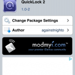QuickLock2 Cydia Tweak