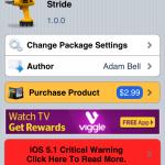 Unlock Your iPhone By Drawing; Stride Cydia Tweak