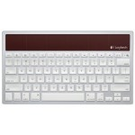 Logitech Solar Powered Bluetooth Keyboard k760 Connects iPad, iPhone, Mac Together: Switch Between Three Devices By Only Tapping Button