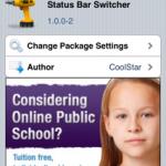 Status Bar Switcher Cydia Tweak:Keep Status Bar Visible While App Switcher Opens