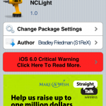 NCLight Cydia Tweak: Open Notification Center From Spotlight