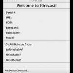 iH8sn0w updates f0recast tool