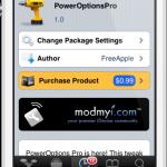 PowerOptionsPro Cydia Tweak: Add Awesome Features To ShutDown Screen