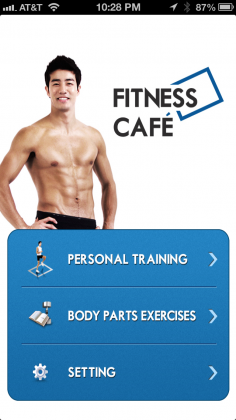 Fitness Cafe Exercise App
