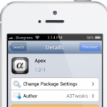 Use APEX Cydia Tweak To Add Space To Springboard