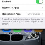 MultitaskingGestures Adds Zephyr-Like Gestures To iOS 7