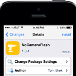 NoCameraFlash: Disables Your Camera Flash