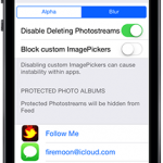 PProtect: Allows You To Password Protect Your Photo Stream