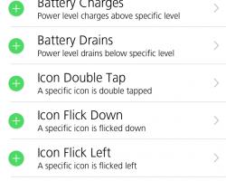 Activator iOS 7 Screenshot