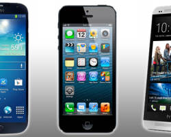 Galaxy S5 vs iPhone 5S vs HTC One M8