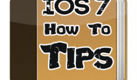 iOS 7 How to Tips