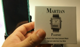 Martian Passport SmartWatch
