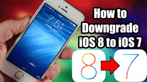 Downgrade From iOS 8 Beta to iOS 7.1.1