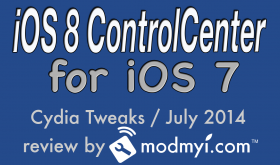 iOS 8 controlcenter