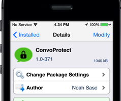convoprotect cydia tweak