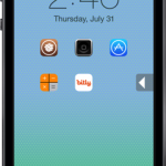 Lockscreen Launcher Cydia Tweak: Open Apps Directly From Lockscreen
