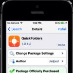 QuickFolders Cydia Tweak: Navigate Folders Using Gestures