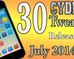 30 cydia tweaks 7.1.2