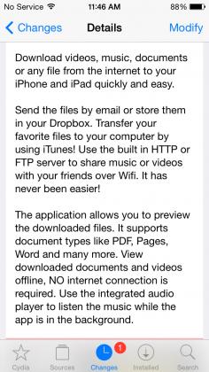 media downloader tweak description