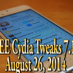 Top Five FREE Cydia Tweaks (Must Have) Pangu Jailbreak 7.1.2