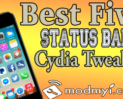 best five status bar tweaks