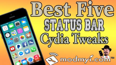 best five status bar tweaks