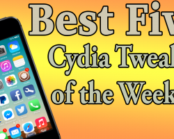 best five tweaks of week