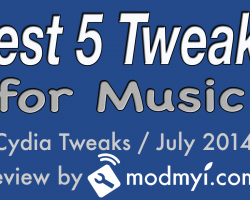 top 5 music cydia tweaks