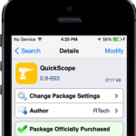 How To Find Movies, Take Notes, and More Using  QuickScope Cydia Tweak