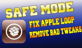 iPhone Safe Mode