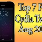 Best Seven Free Cydia Tweaks 7.1.2 Pangu Jailbreak