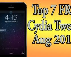 best seven free cydia tweaks