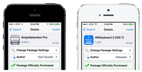 Two Cydia Keyboard Tweaks Now In iOS 8 App Store