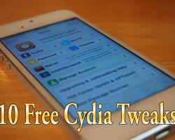 5 Free Cydia Tweaks
