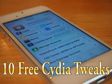 10 Free Cydia Tweaks