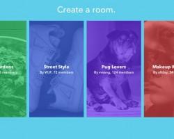 Rooms for Facebook iOS app