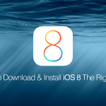 How To Download & Install iOS 8.0  / iOS 8.1